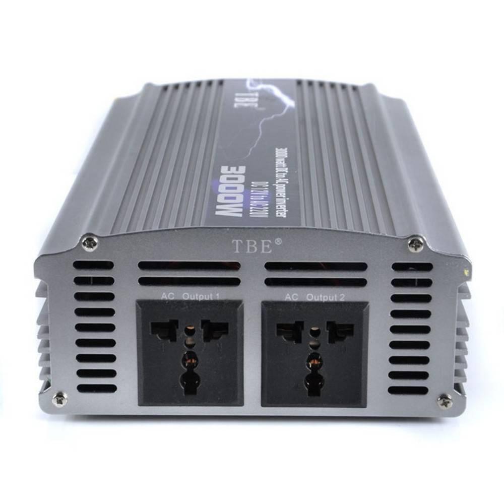 Αντιστροφέας – Inverter 3000W Τροποποιημένο Ημίτονο 24V TBE - Sfyri.gr - Ηλεκτρονικό Πολυκατάστημα