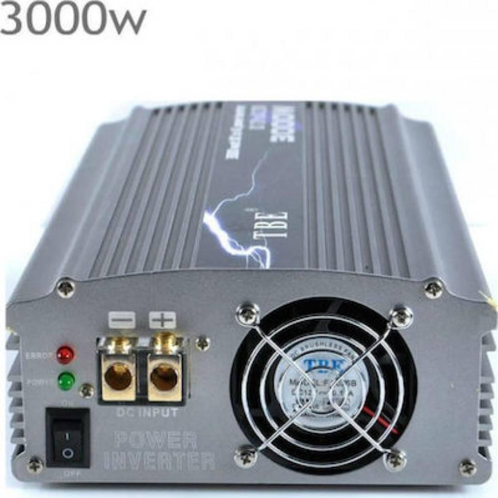 Αντιστροφέας - Inverter 3000W Τροποποιημένο Ημίτονο 24V TBE