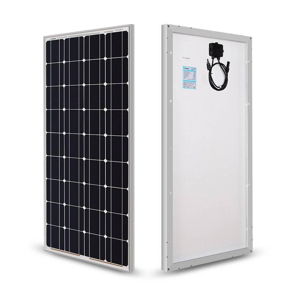 Φωτοβολταϊκό Πάνελ 100W 12V RNG-100P - Sfyri.gr - Ηλεκτρονικό Πολυκατάστημα