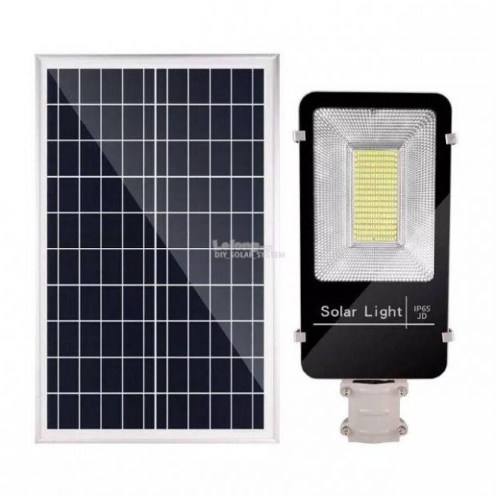Ηλιακό Φωτιστικό Δρόμου 70W Led JD-670 - Sfyri.gr - Ηλεκτρονικό Πολυκατάστημα