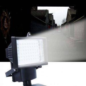 Ηλιακός Προβολέας 100Led με Ανιχνευτή Κίνησης - Sfyri.gr - Ηλεκτρονικό Πολυκατάστημα