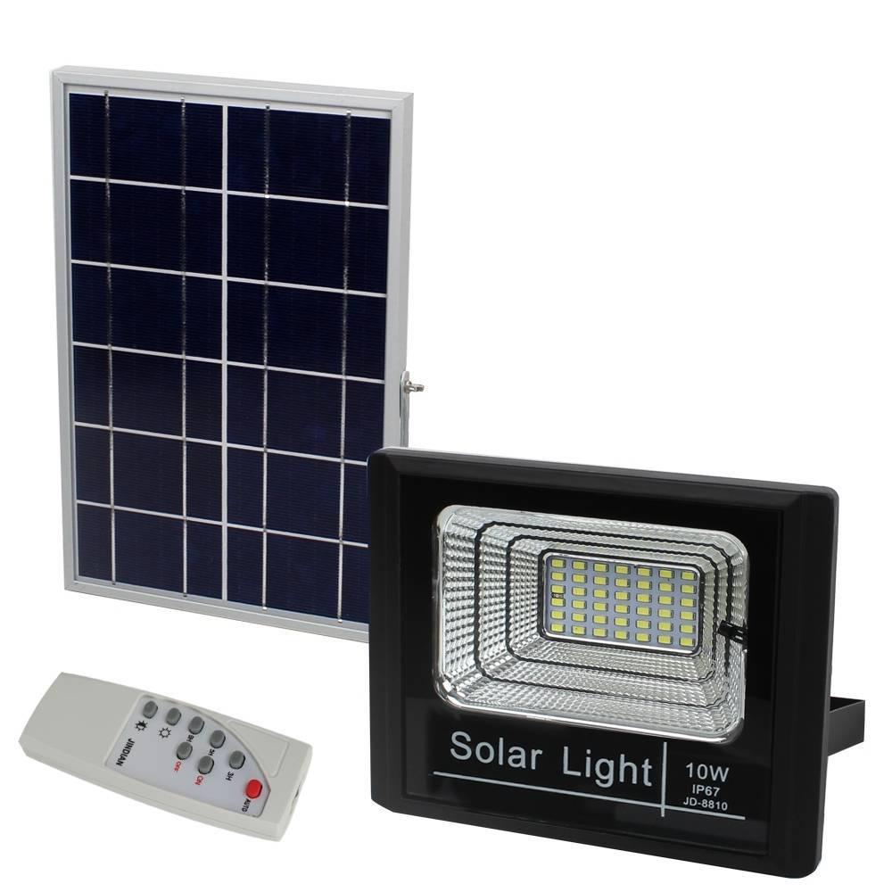 Ηλιακός Προβολέας 10W Led JD-8800