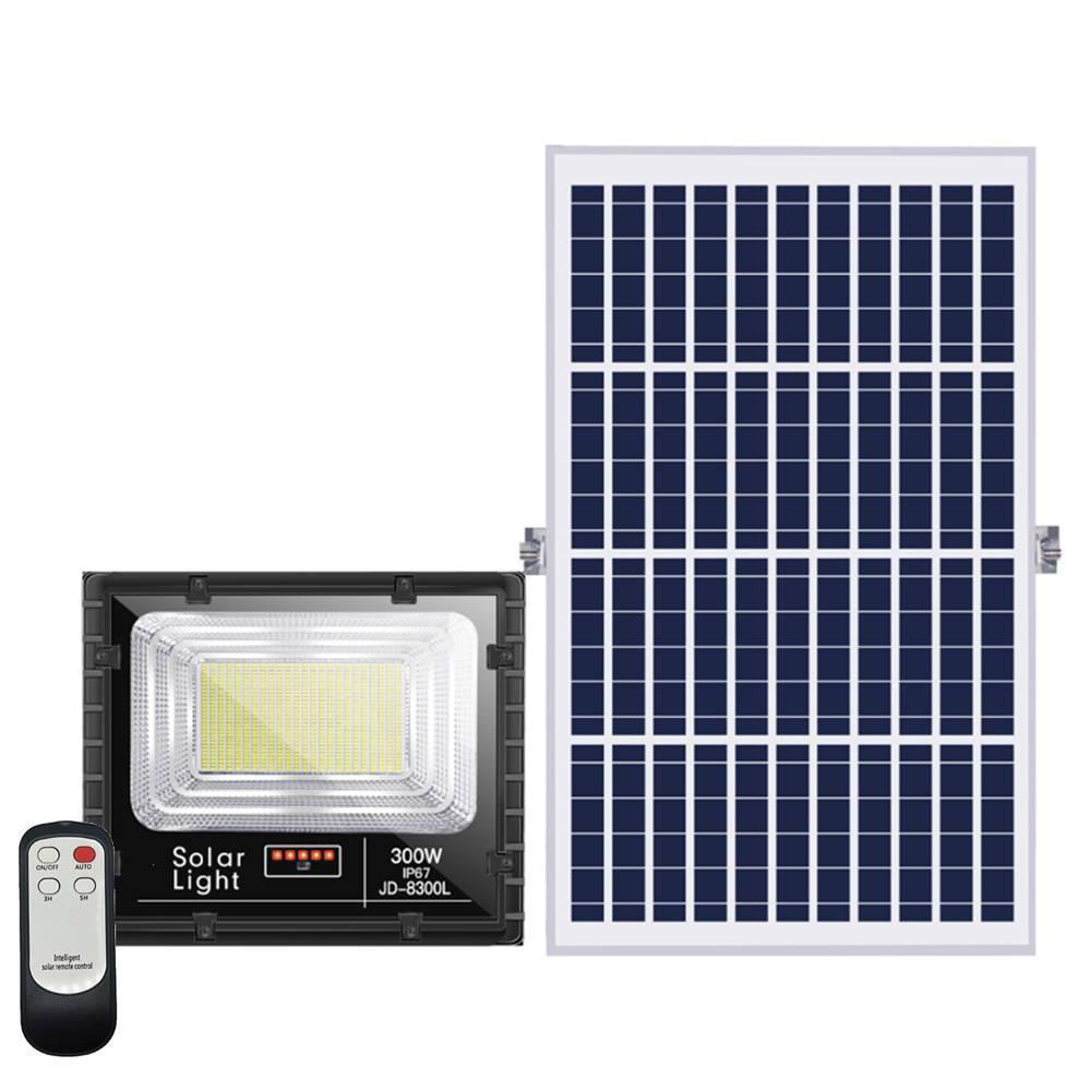 Ηλιακός Προβολέας 300W Led JD-8300L