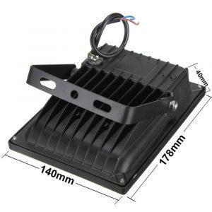 Προβολέας Led Slim 20W 230V Αδιάβροχος - Sfyri.gr - Ηλεκτρονικό Πολυκατάστημα