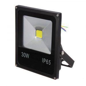 Προβολέας Led Slim 30W 230V Αδιάβροχος - Sfyri.gr - Ηλεκτρονικό Πολυκατάστημα