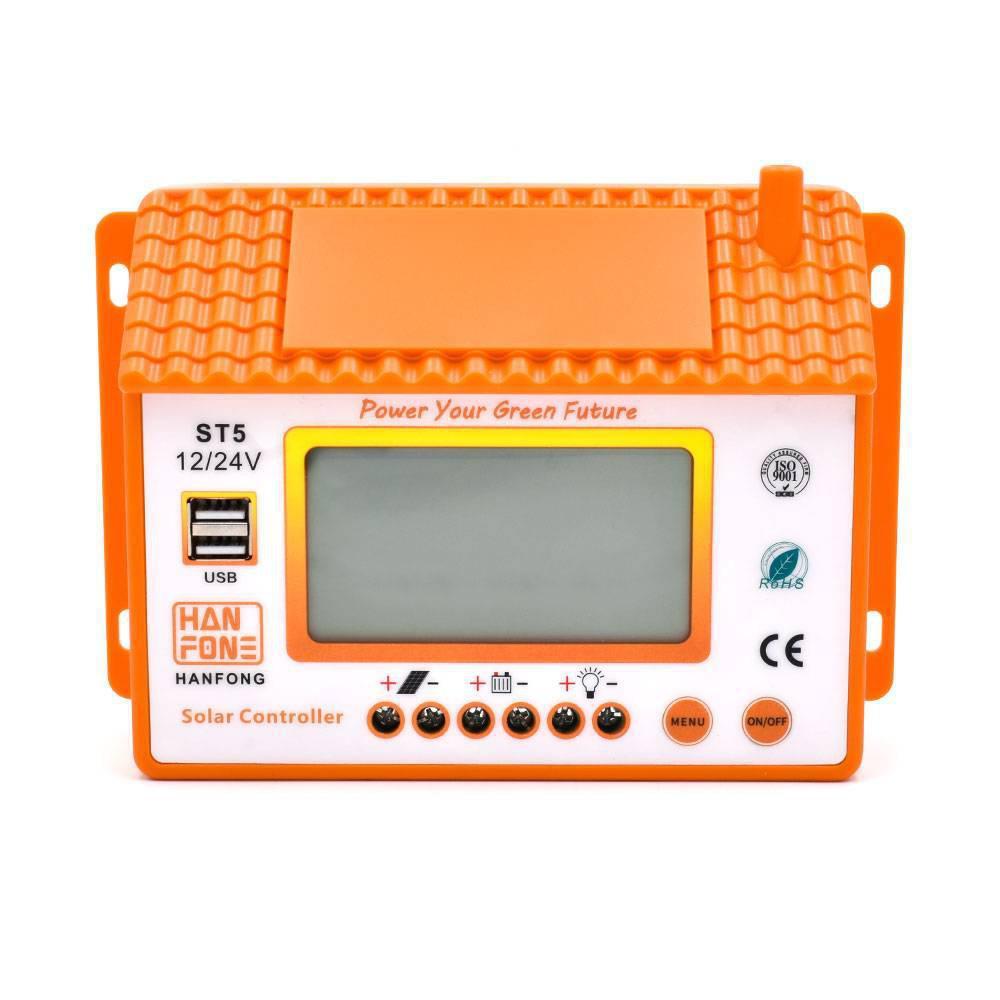 Ρυθμιστής Φόρτισης 30A PWM ST5-30