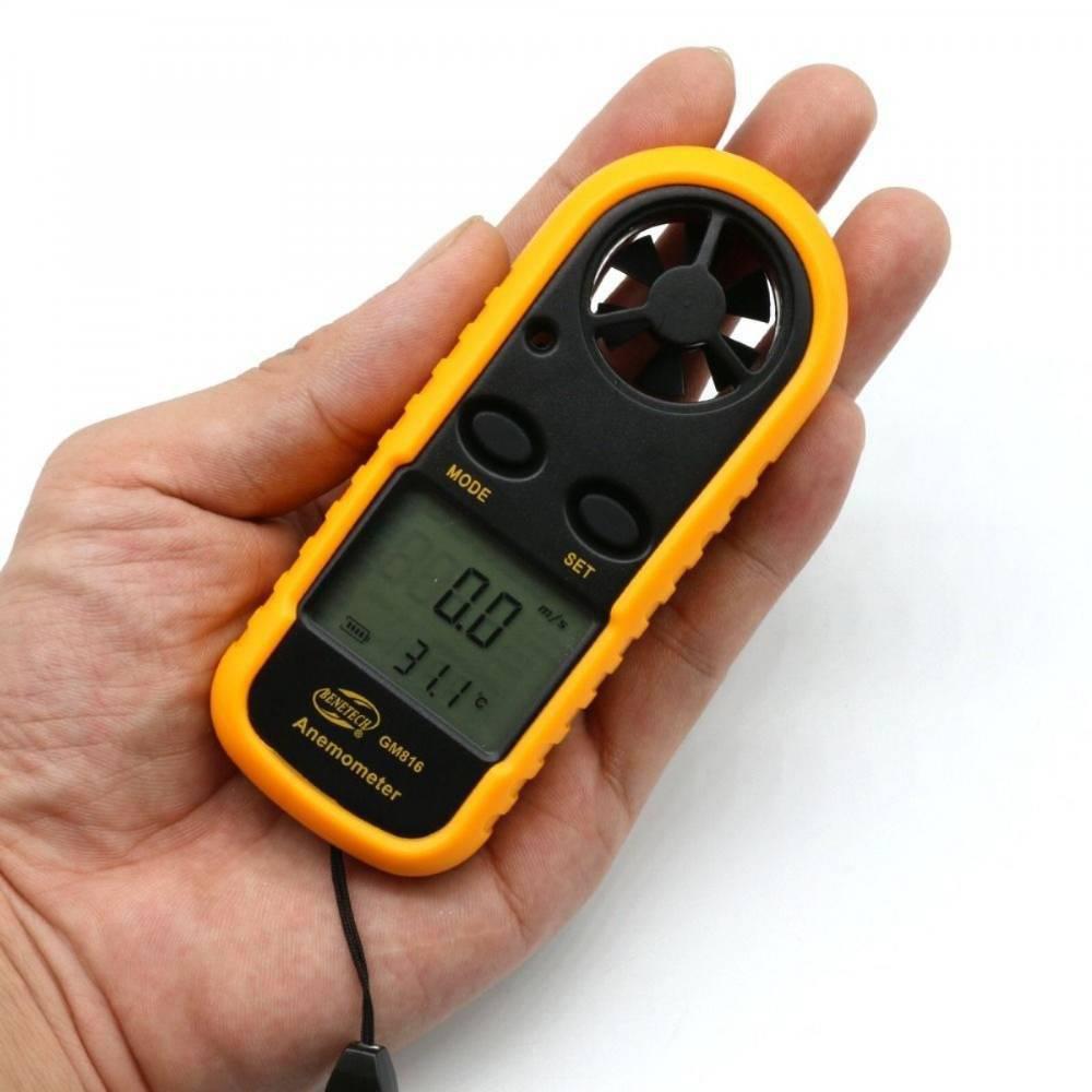 Ανεμόμετρο Φορητό Ψηφιακό GM816