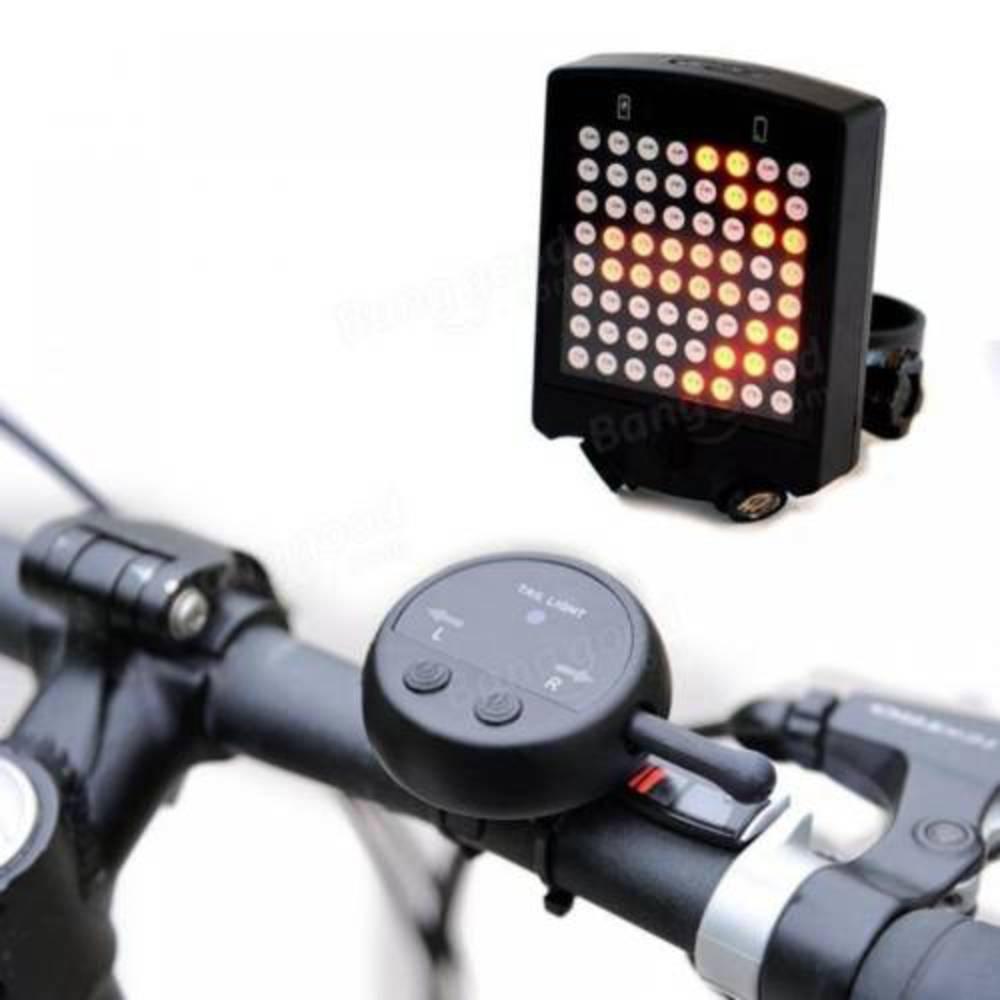 Aσύρματο Φλάς Ποδηλάτου LED με Χειριστήριο STL-01