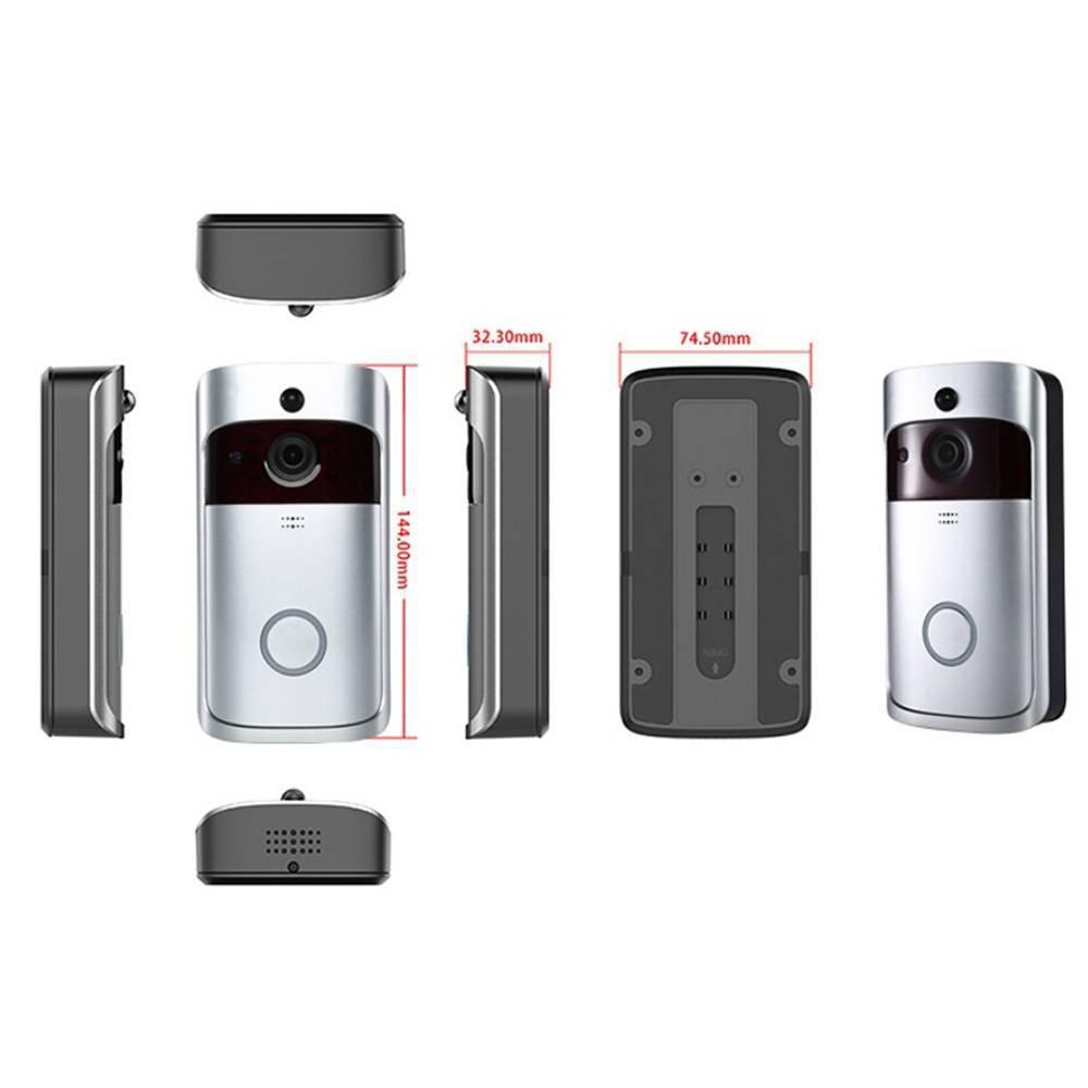 Ασύρματο Κουδούνι Πόρτας WiFi V8 OEM - Sfyri.gr - Ηλεκτρονικό Πολυκατάστημα