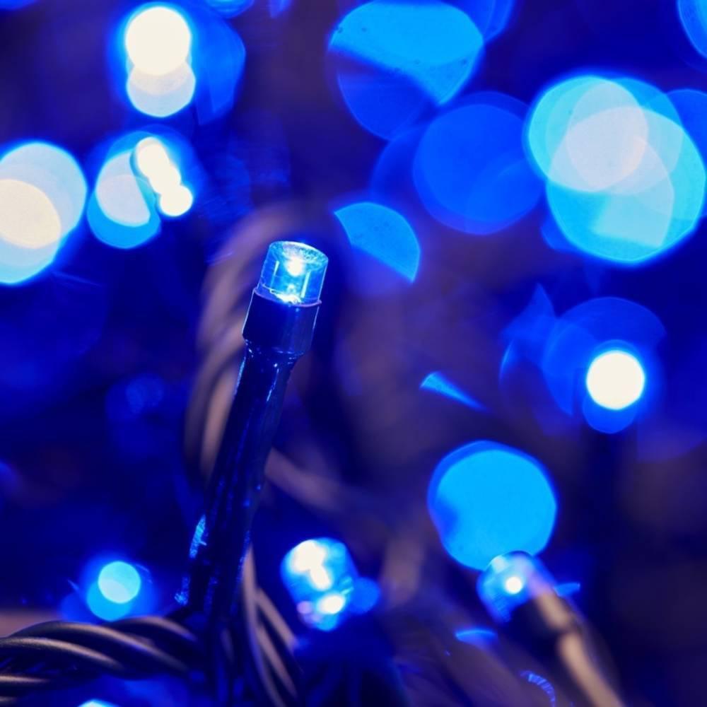 Χριστουγεννιάτικα Λαμπάκια με 100 Led 9m Μπλε - Sfyri.gr - Ηλεκτρονικό Πολυκατάστημα