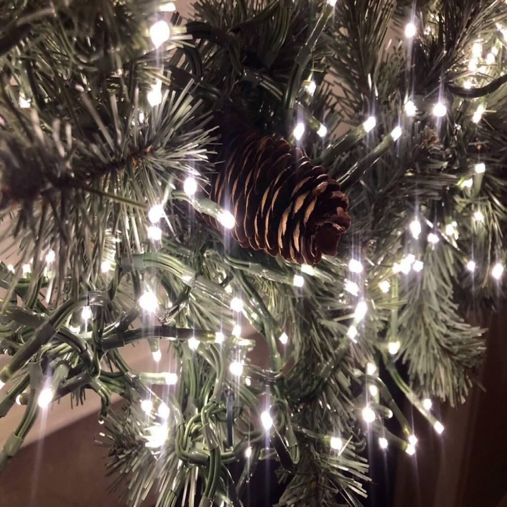 Χριστουγεννιάτικα Λαμπάκια με 100 Led 9m Ψυχρό Λευκό - Sfyri.gr - Ηλεκτρονικό Πολυκατάστημα