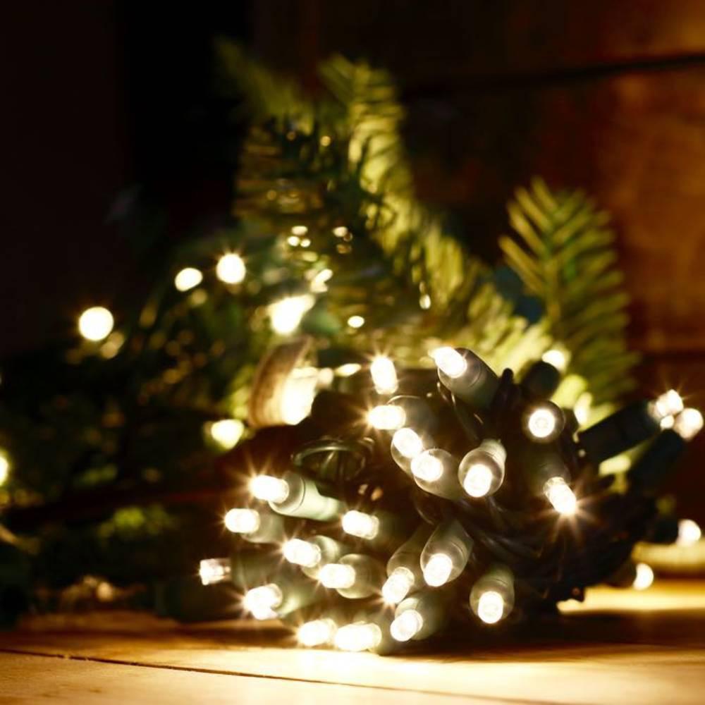 Χριστουγεννιάτικα Λαμπάκια με 100 Led 9m Ψυχρό Λευκό
