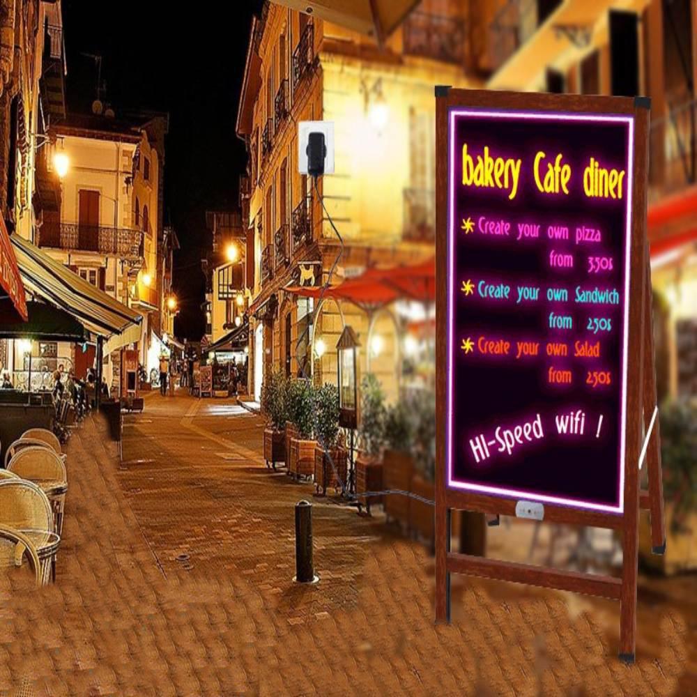 Διαφημιστικός Πίνακας Αδιάβροχος με Βάση LED Aido CM20
