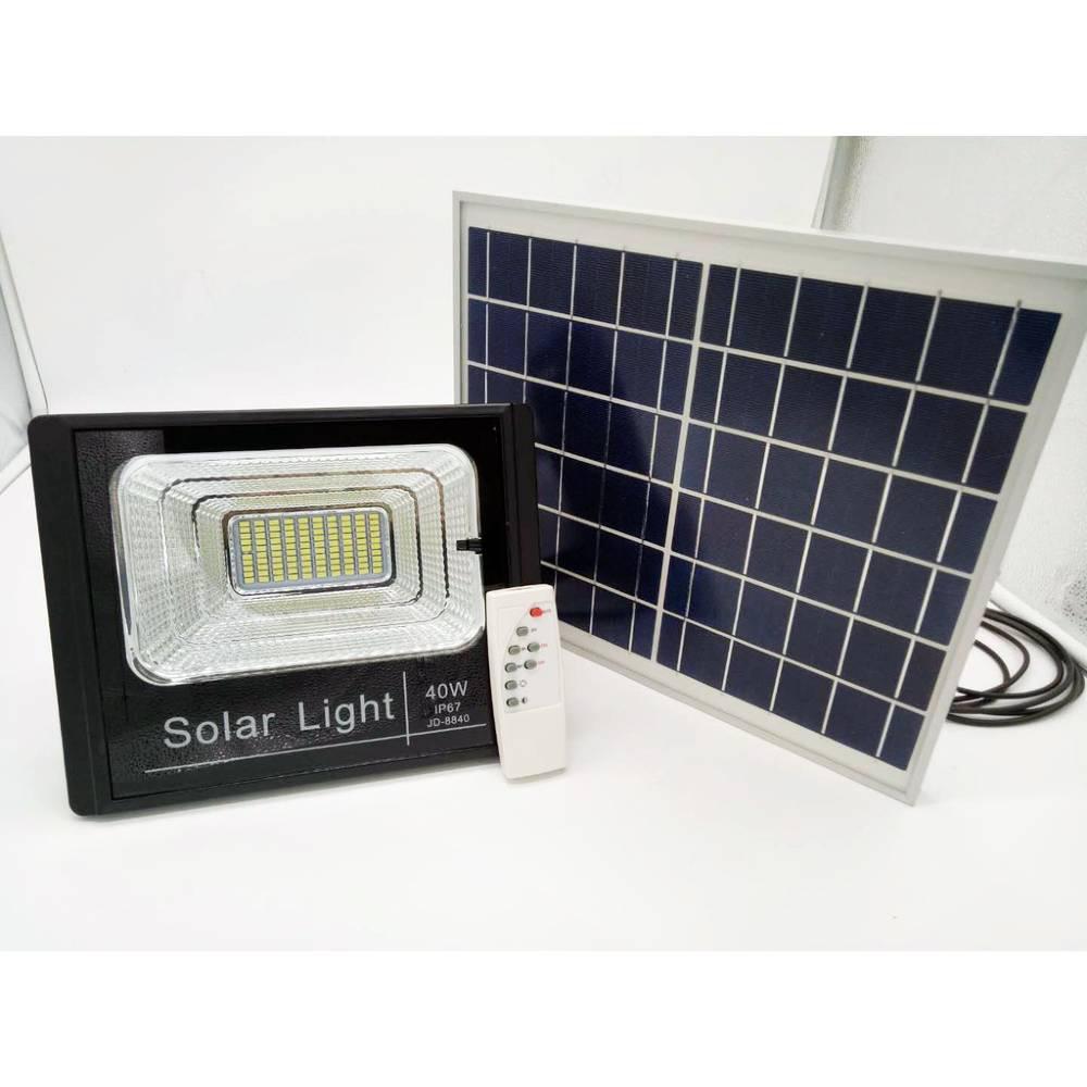Ηλιακός Προβολέας 40W Led JD-8840 - Sfyri.gr - Ηλεκτρονικό Πολυκατάστημα