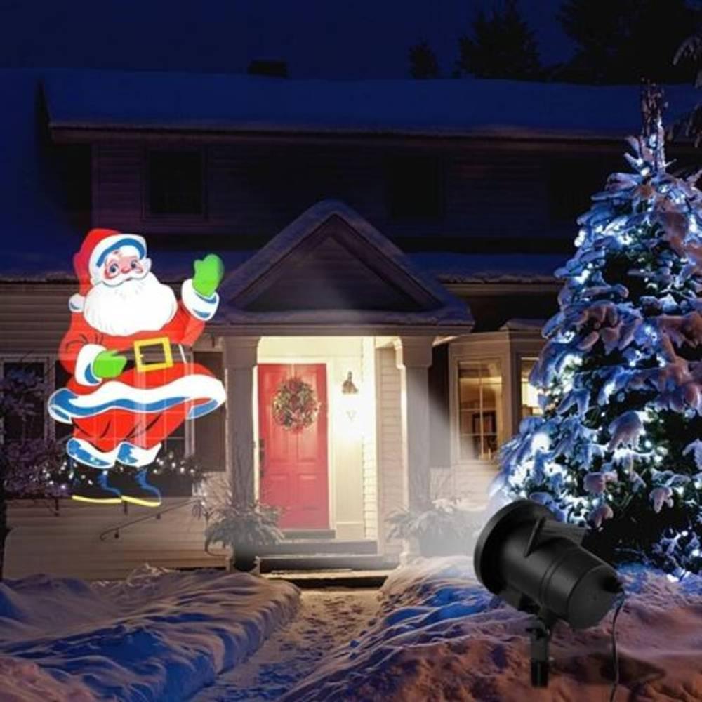Προτζέκτορας Χριστουγεννιάτικος με 4 Πολύχρωμες Παραστάσεις - Sfyri.gr - Ηλεκτρονικό Πολυκατάστημα