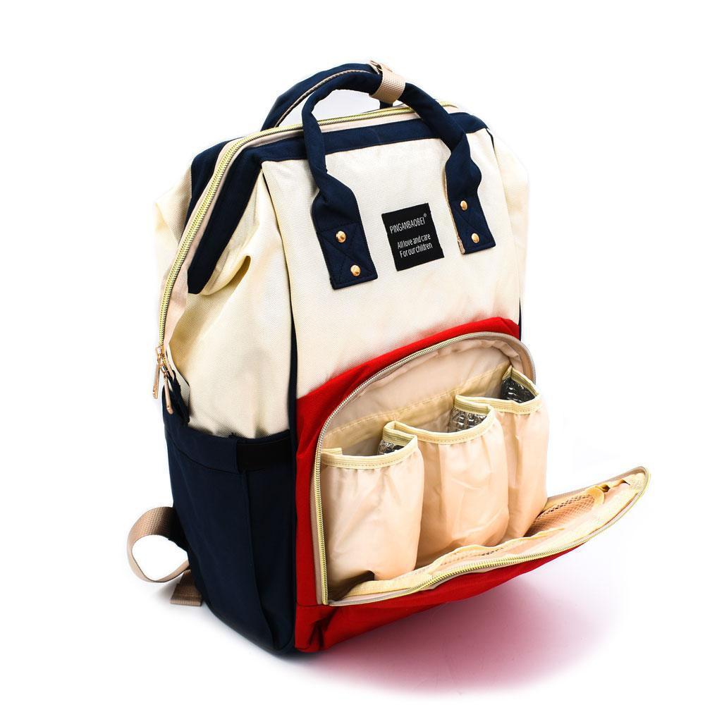 Τσάντα Μωρού Πλάτης Full Colour Mommy Bag Pinganbaobei