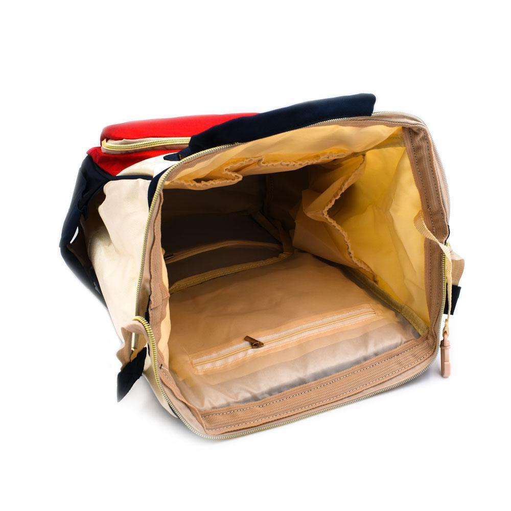 Τσάντα Μωρού Πλάτης Full Colour Mommy Bag Pinganbaobei - Sfyri.gr - Ηλεκτρονικό Πολυκατάστημα