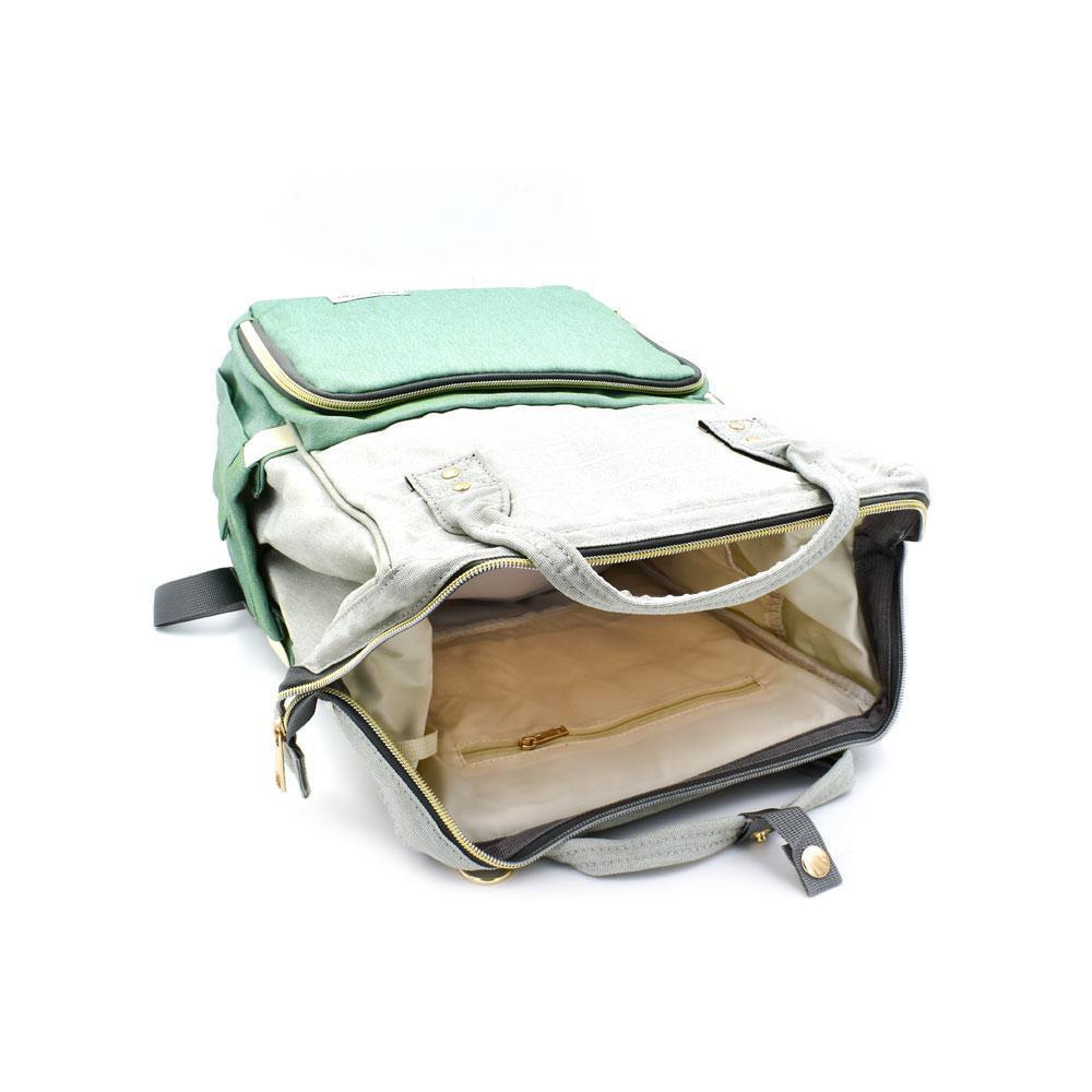 Τσάντα Μωρού Πλάτης Mommy Bag AiFi Κυανό - Γκρι Ριγέ - Sfyri.gr - Ηλεκτρονικό Πολυκατάστημα