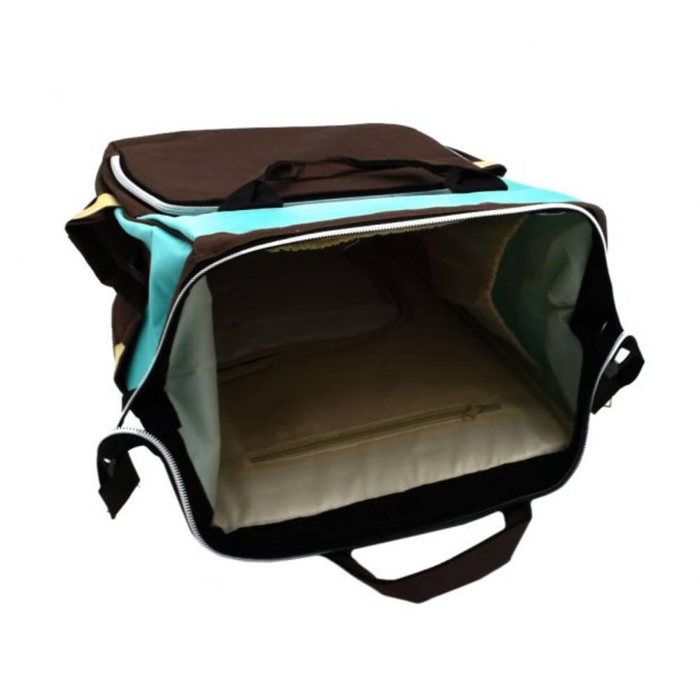 Τσάντα Μωρού Πλάτης Mommy Bag B.L. Baby – Κυανό Καφέ - Sfyri.gr - Ηλεκτρονικό Πολυκατάστημα