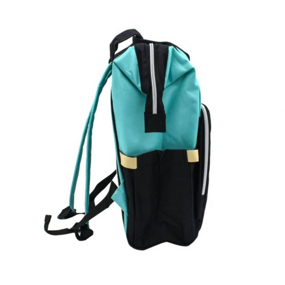 Τσάντα Μωρού Πλάτης Mommy Bag B.L. Baby – Κυανό Μαύρο - Sfyri.gr - Ηλεκτρονικό Πολυκατάστημα