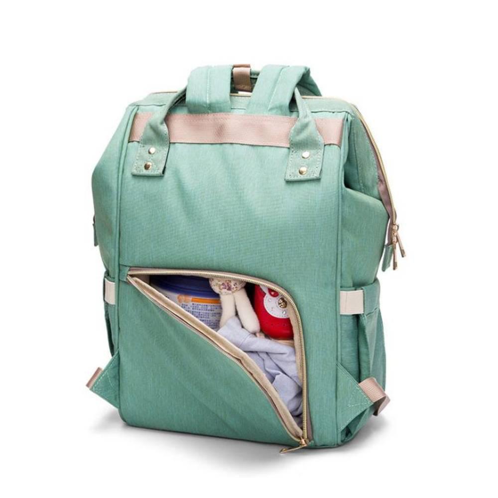 Τσάντα Μωρού Πλάτης Mommy Bag Pinganbaobei Γαλάζιο