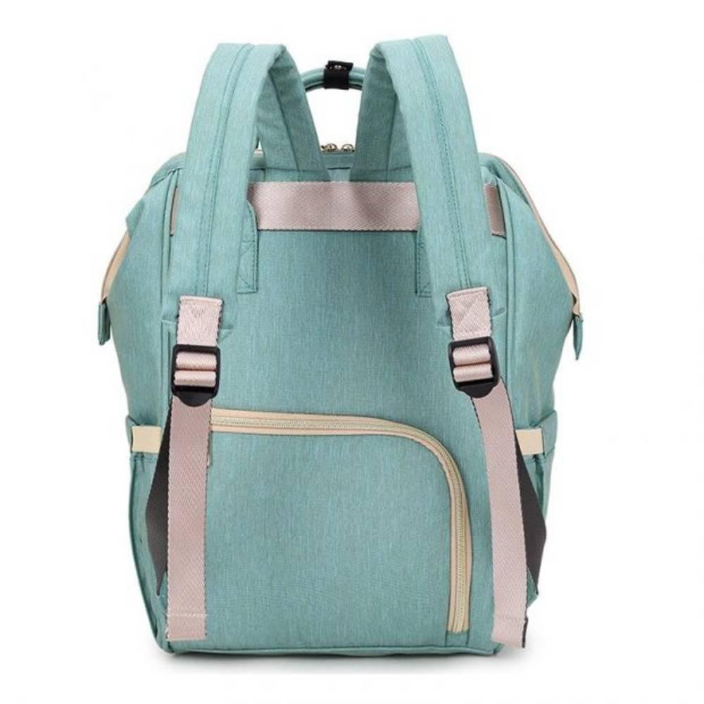 Τσάντα Μωρού Πλάτης Mommy Bag Pinganbaobei Γαλάζιο - Sfyri.gr - Ηλεκτρονικό Πολυκατάστημα