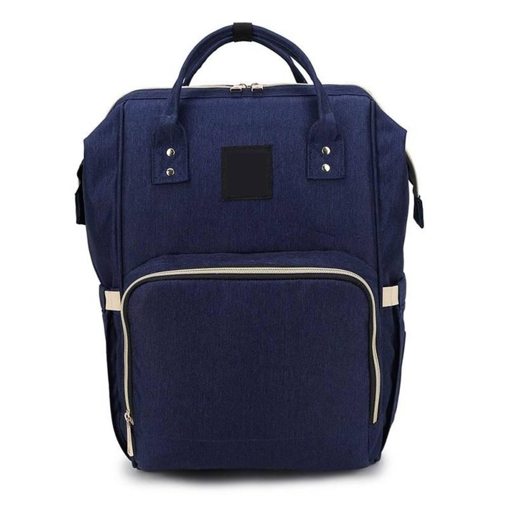 Τσάντα Μωρού Πλάτης Mommy Bag Pinganbaobei Μπλε
