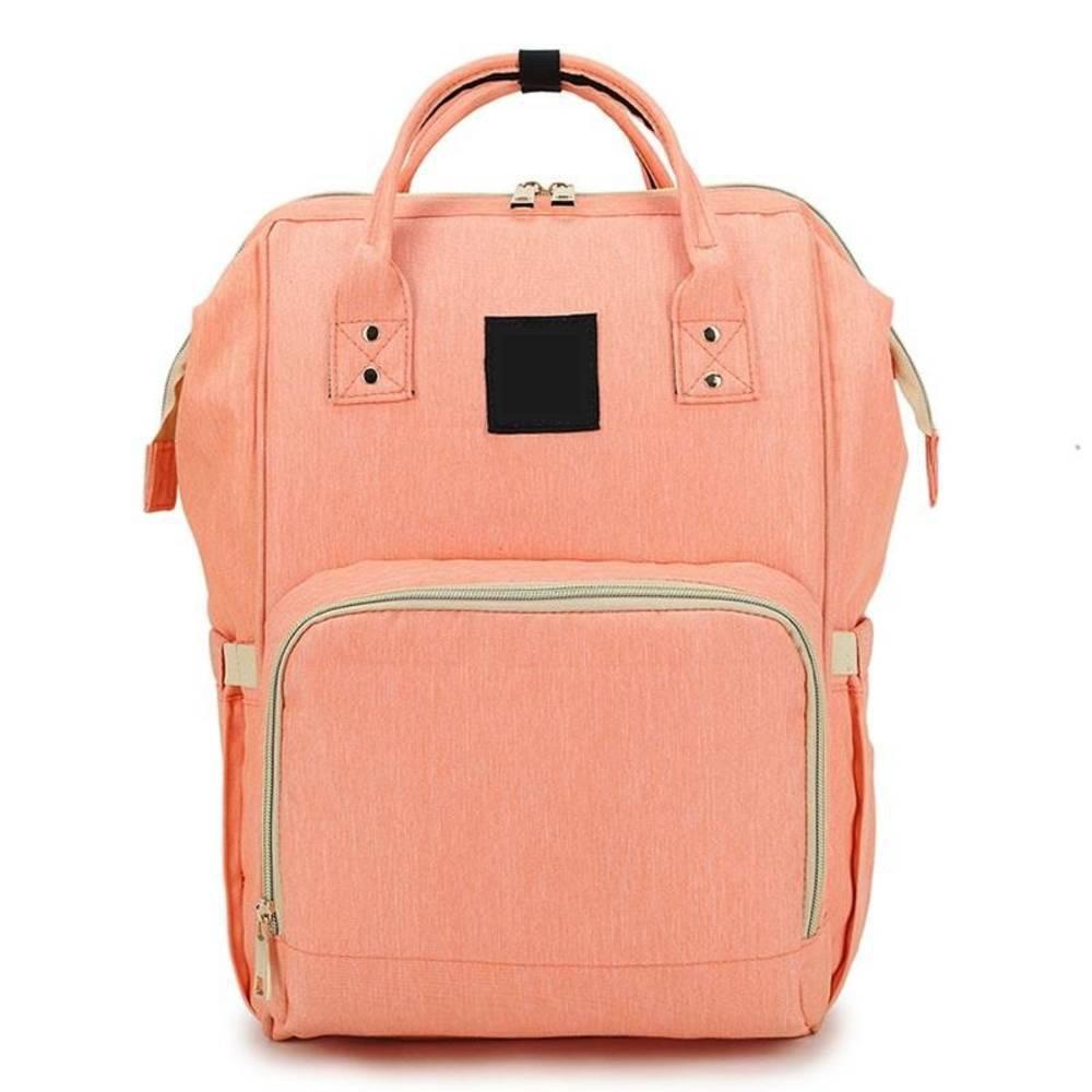Τσάντα Μωρού Πλάτης Mommy Bag Pinganbaobei Ροζ