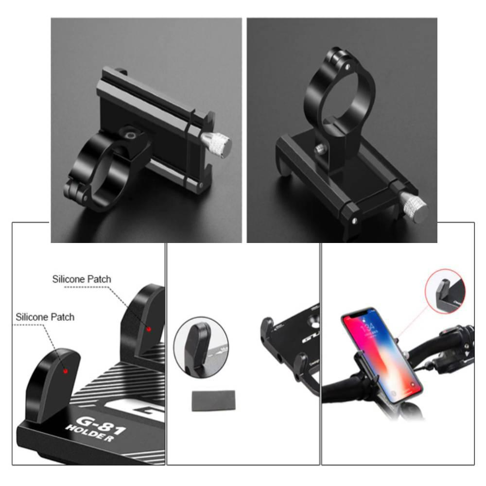 """Βάση Αλουμινίου Κινητών 3.5"""" - 6.2″ για Ποδήλατα & Μηχανές - Sfyri.gr - Ηλεκτρονικό Πολυκατάστημα"""